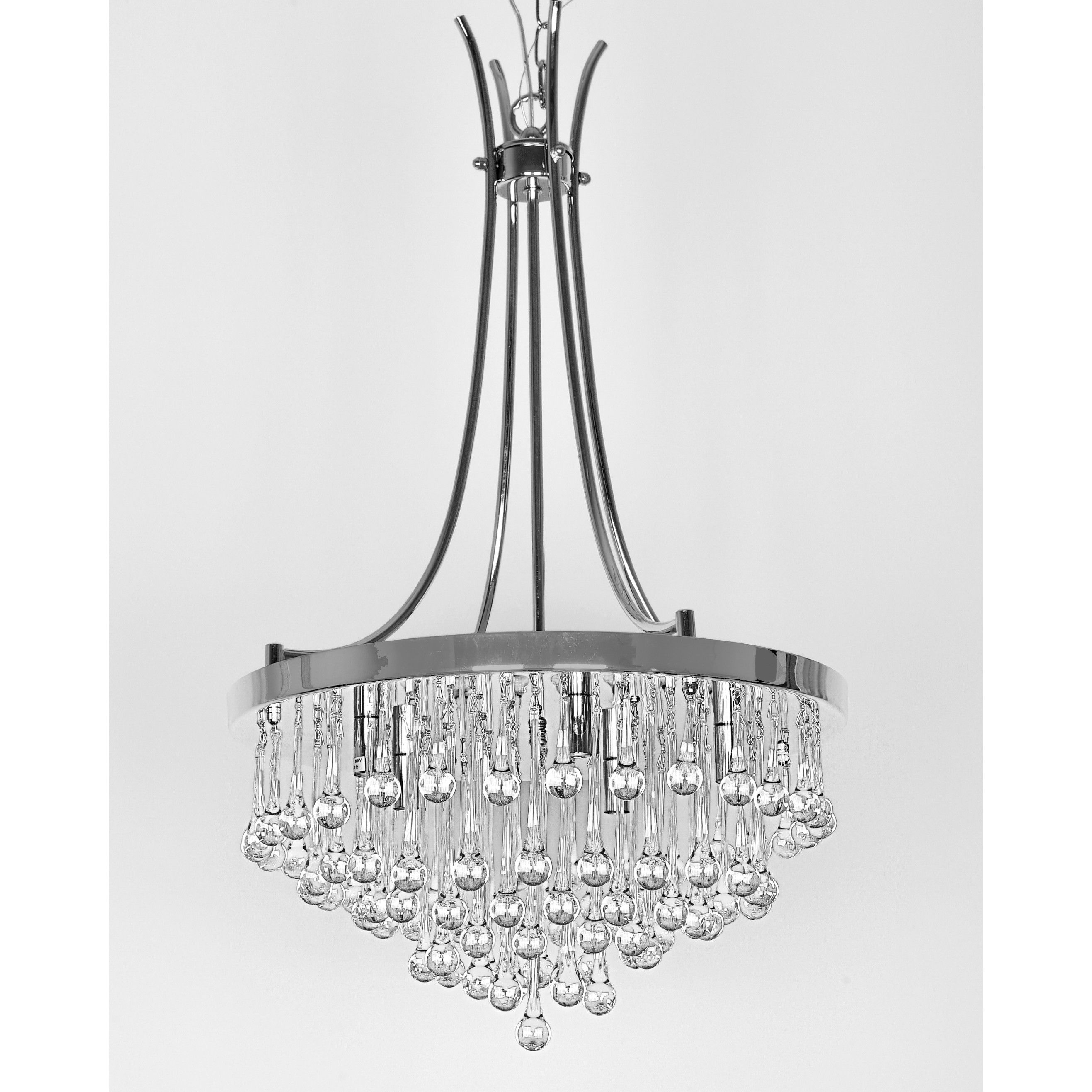 Wellyer Bacchus 5 Light Crystal Chandelier Girls Room Chandelier Iron Chandeliers Chandelier