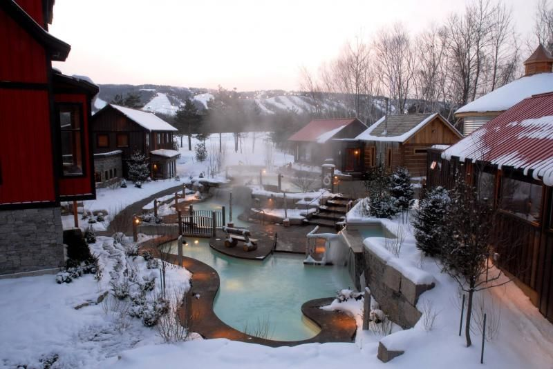 Days Out Ontario Le Scandinave Spa Nordic Relaxation In Ski Country Blue Mountain Collingwood Scandinavian Baths