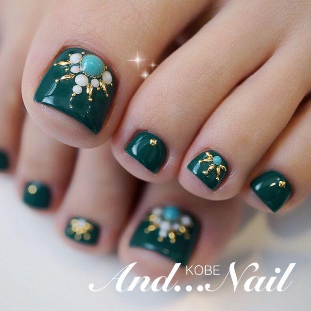 #pedicure #nails #nailart Nail Design, Nail Art, Nail