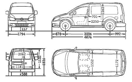 Vw Caddy Maxi Panel Van Dimensions Volkswagen Vans And Commercial Vehicles Uk Volkswagen Camper Caddy Van Caddy Maxi