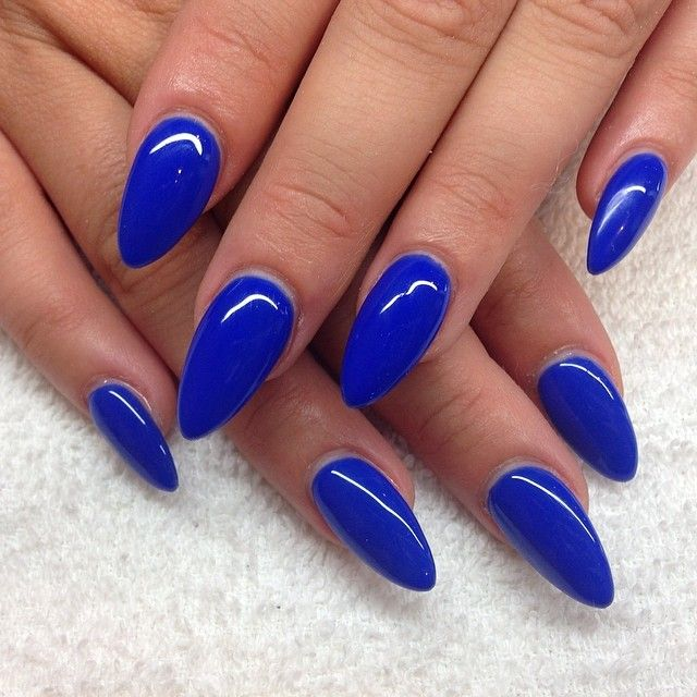 Nailsbyquin Single Photo Instagrin Almond Acrylic Nails Almond Nails Designs Pointy Nails