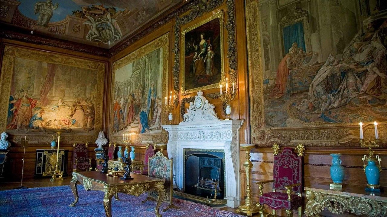 windsor castle interior great residences pinterest