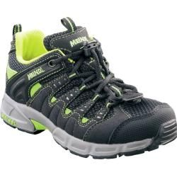 Photo of Meindl children's hiking shoe Snap Junior, size 33 in black / neon green, size 33 in black / neon green Me