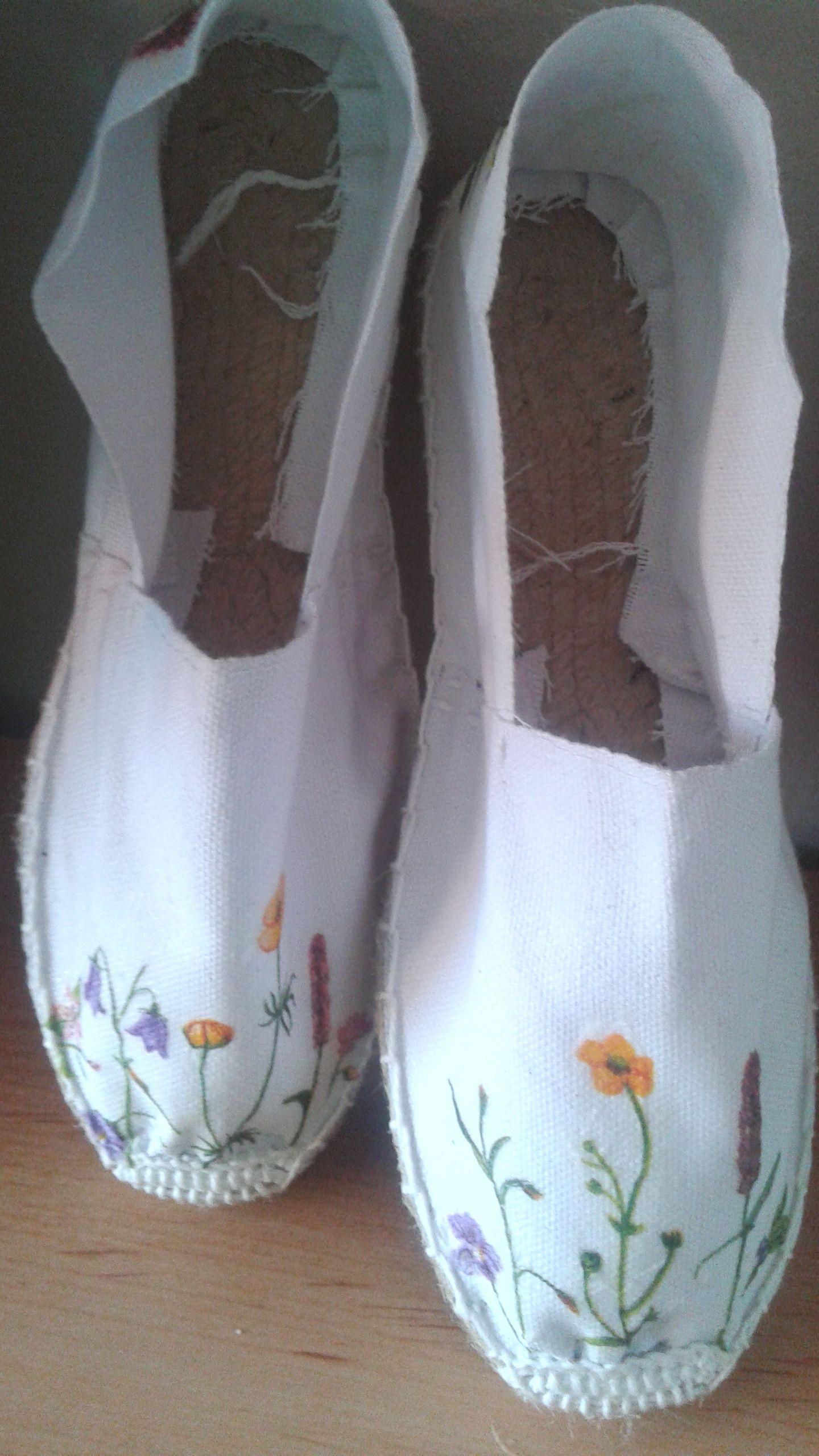 Zapatillas de esparto decoradas alpargatas pinterest zapatillas alpargatas y zapatillas - Alpargatas de esparto ...
