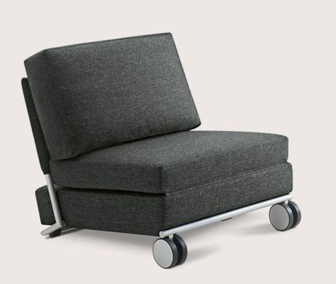 Trinus The Chair Lounge And Fold Out Single Bed Beds For Small Spaces Sofa Bed