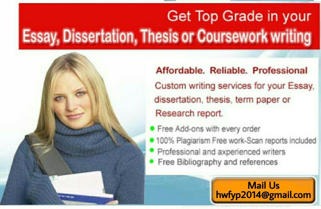Custom Dissertation Writing Service Descriptive
