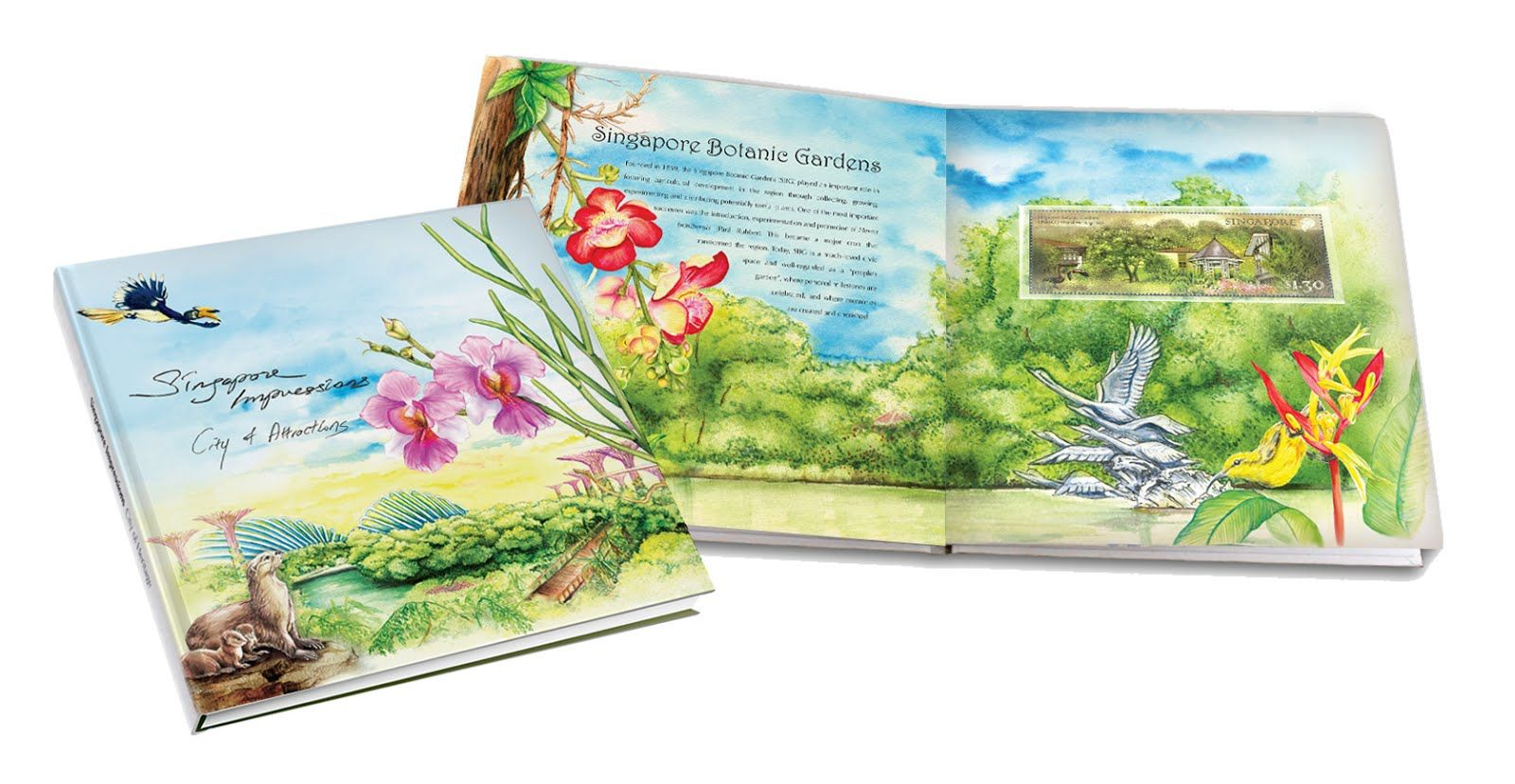 Singapore Impression Coffee Table Books National School School Savings