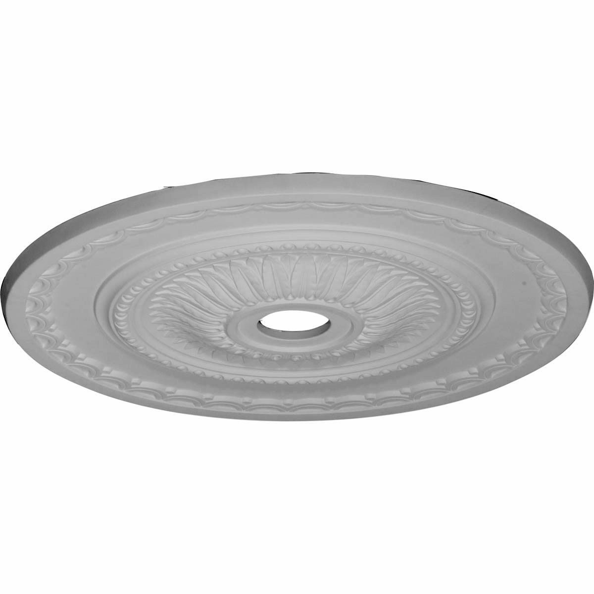 29-1-2-OD-x-3-5-8-ID-x-1-5-8-P-Sunflower-Ceiling-Medallion--Fits-Canopies-up-to-5-5-8--