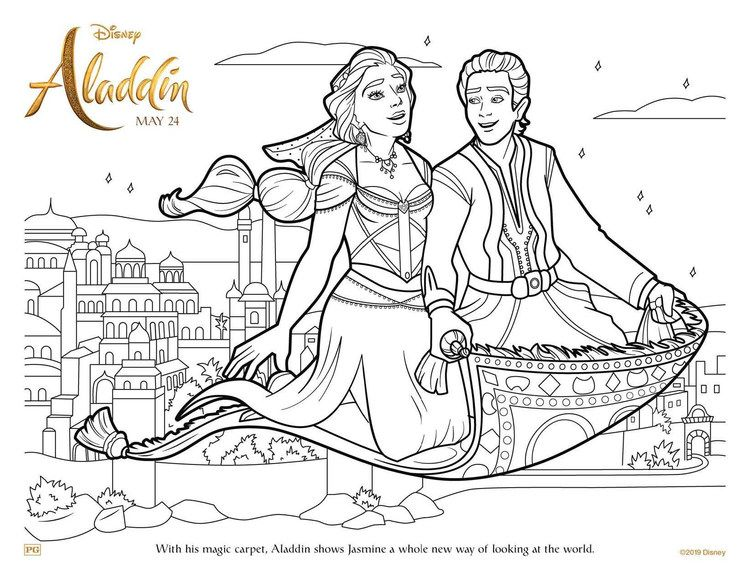 Free Aladdin Coloring Pages For Kids Free Coloring Sheets Disney Princess Coloring Pages Aladdin Movie Free Disney Coloring Pages
