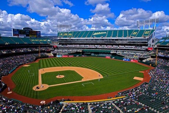 Oakland Alameda Coliseum Oakland Ca No Not Yet Baseball Stadium Major League Baseball Stadiums Yankee Stadium