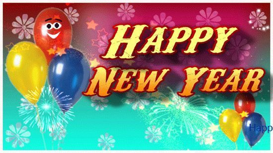 Animated happy new year greetings happy new year animated greeting happy new year animated greeting card to send to your near and dear ones free online new year wishes for you have fun ecards on new year m4hsunfo