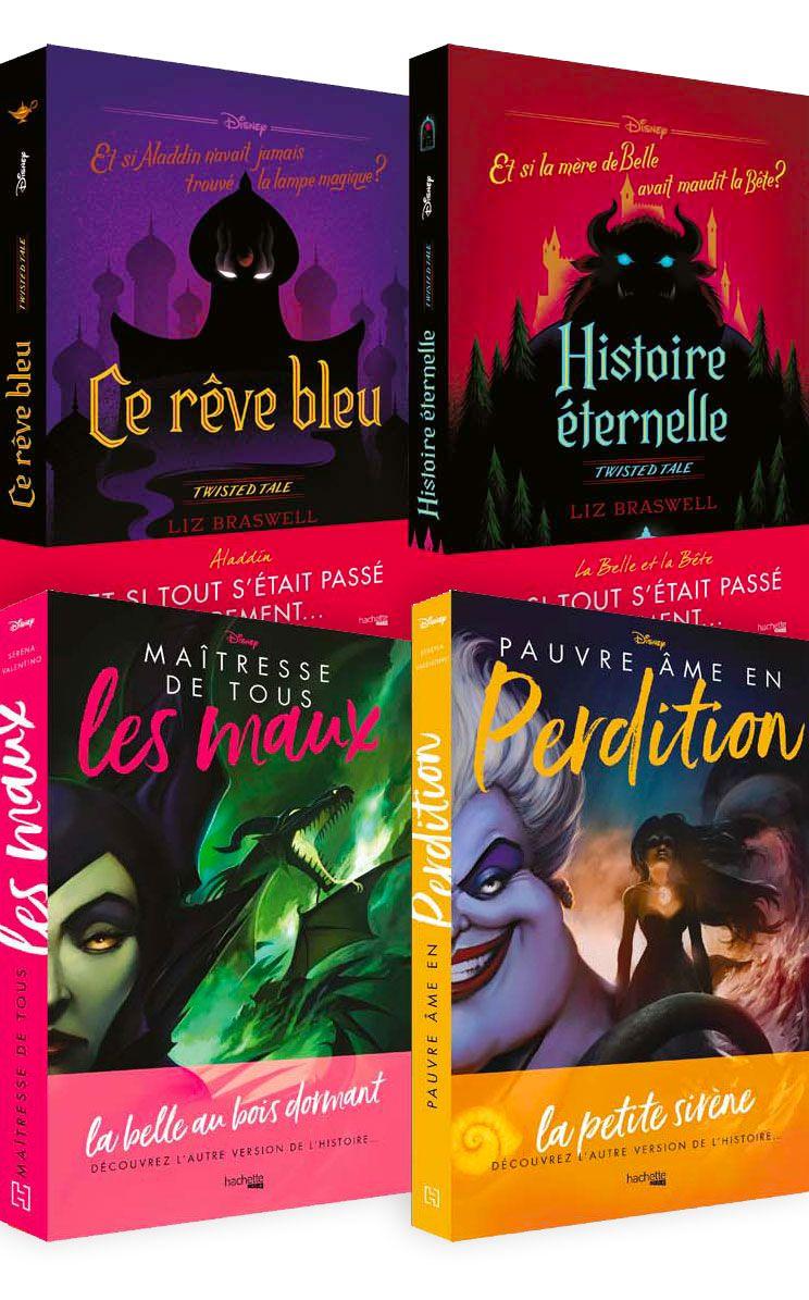 Twisted Tales Vilains Disney Hachette Heroes La