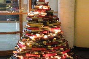 book christmas tree - Google Search