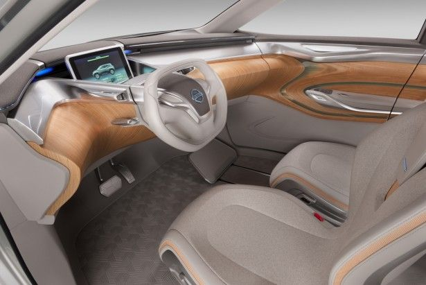 Nissan Concept Car Features Removable Tablet As Dashboard Futuristic Cars Concept Cars Nissan Leaf