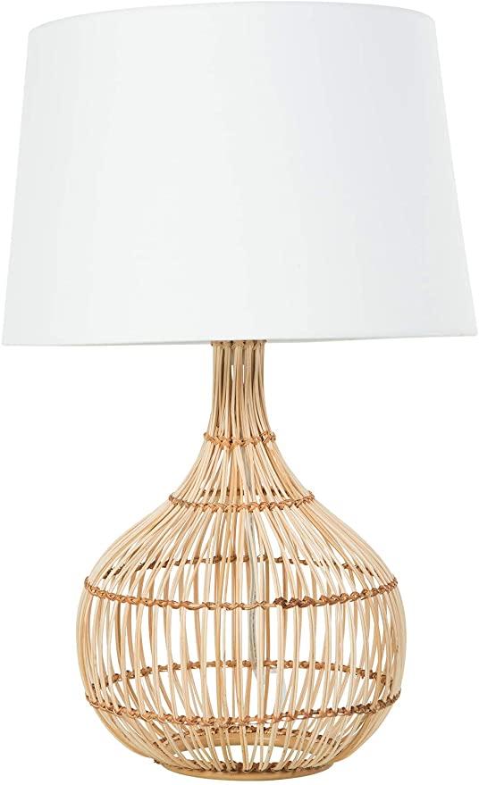 Kouboo 1050120 Luhu Table Pendant Lamp Brown Amazon Com Lamp Table Pendant Tropical Table Lamps