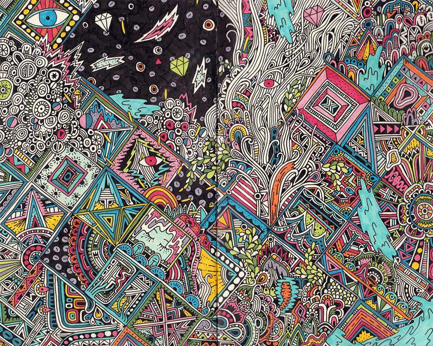 Libretas De Dibujo De Un Artista Freelance: Sophie Roach Dibujos Esbozos Ilustracion Cuaderno
