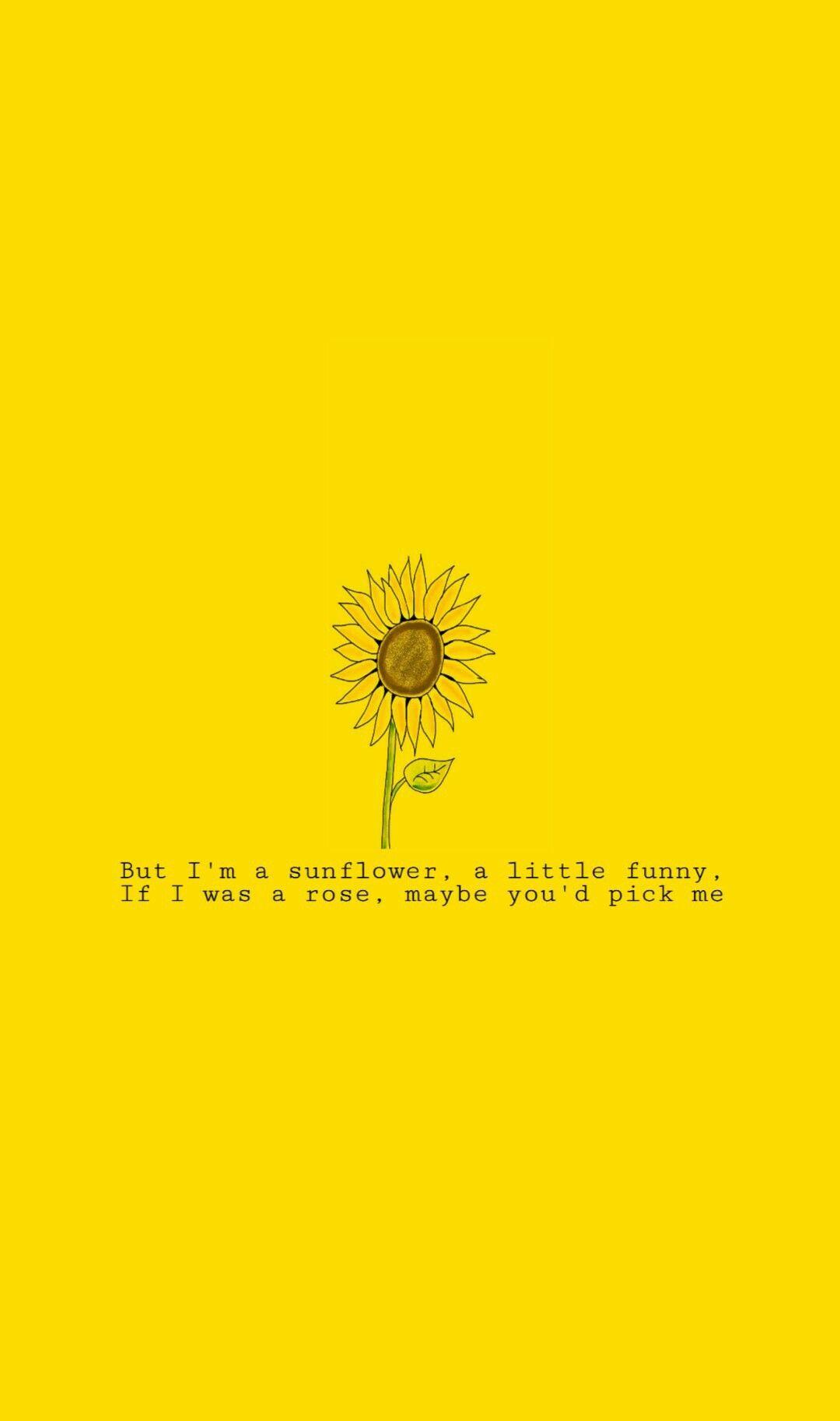 Poema De Citacoes Amarelas O Papel De Parede Amarelo Papel De
