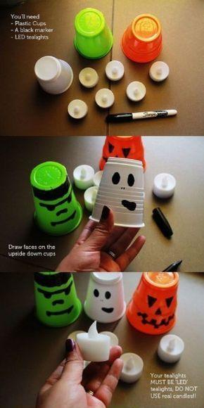 Pin by Sandra Dumpel on knutselen Pinterest - simple halloween decorations to make
