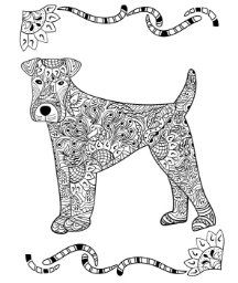 Coloriage Adult Coloring PagesColoring BooksBeautiful DogsDog LoversDot