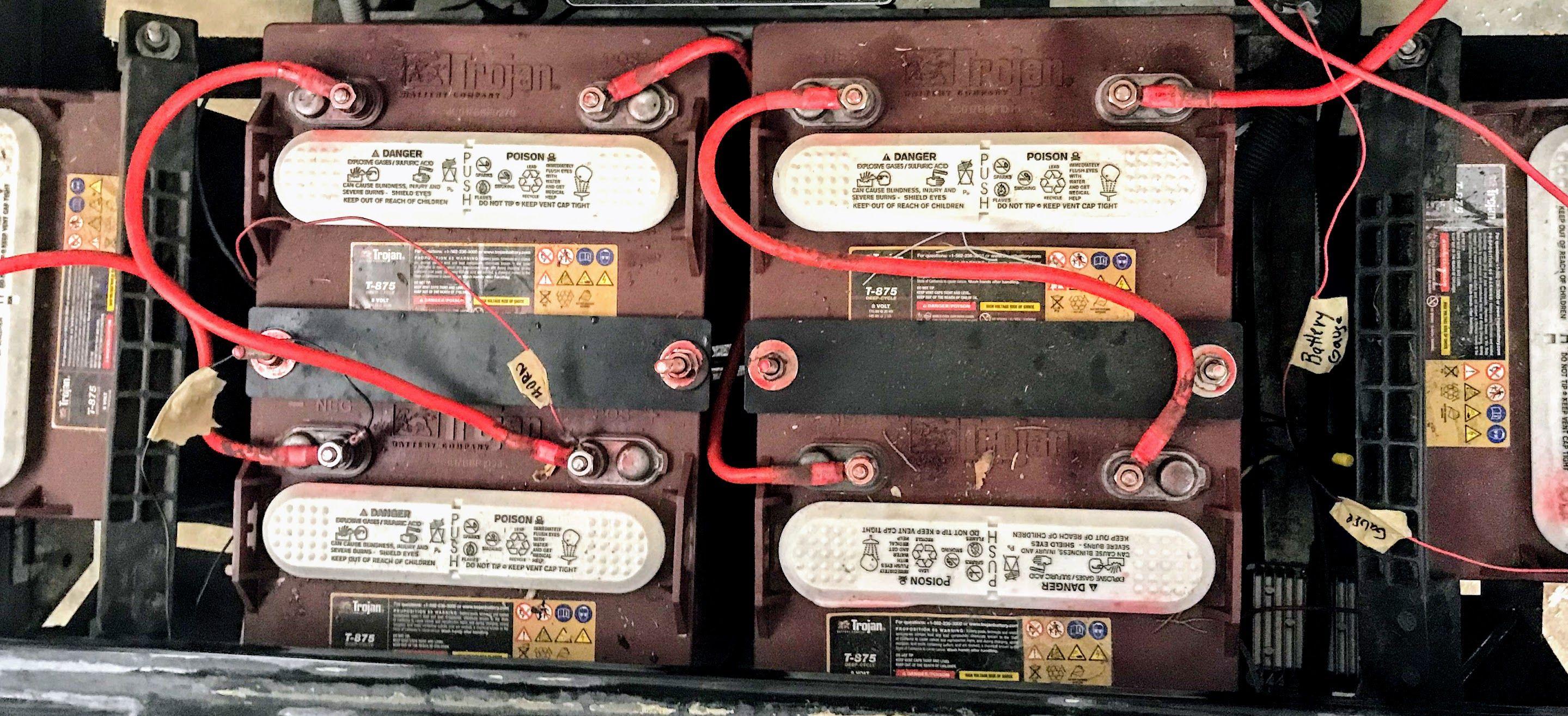 32+ Charging 8 volt batteries in golf cart information