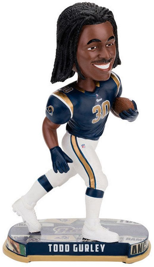 Forever Collectibles Todd Gurley Los Angeles Rams Headline Bobblehead Todd Gurley Toy Collection Baby Clothes Shops