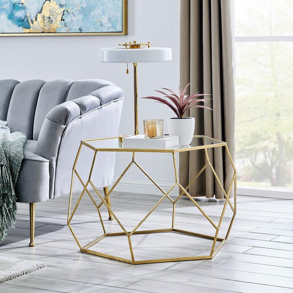 Overstock Com Online Shopping Bedding Furniture Electronics Jewelry Clothing More Gold Living Room Decor Glam Coffee Table Gold Accents Living Room [ 1000 x 1000 Pixel ]