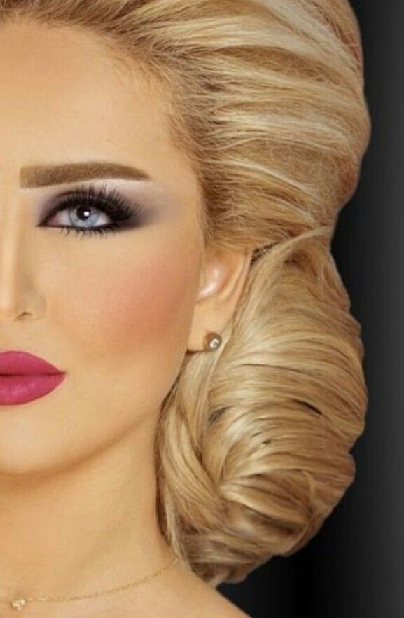 Hanan Dashti Arabic Makeup Artist Eyebrows Done Arabic Style Beautiful Makeup Bridal Makeup Looks Hair Makeup