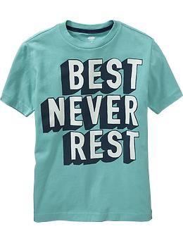 7497e7ec Boys Sports-Graphic Tees | Old Navy | Cool shirts | Boys t shirts ...