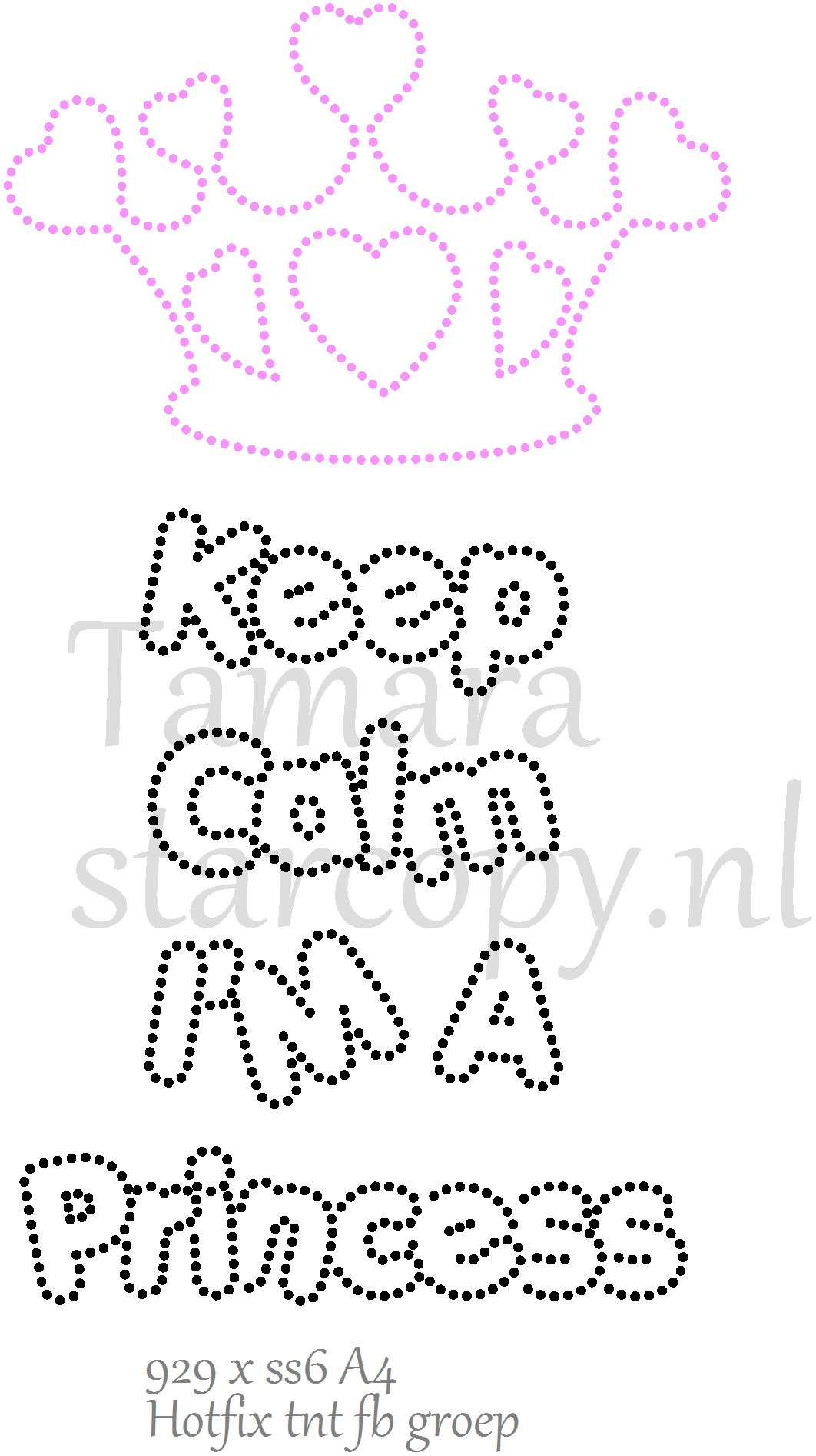 Keep Calm I\'m a princess | Templates | Pinterest | String art ...