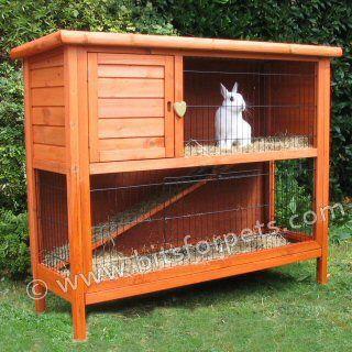 Pin On Diy Rabbit Hutch Plans