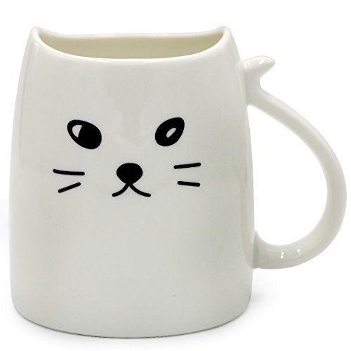 Teagas Cute Cat Mug 12 oz for Coffee or Tea - White Cute ... https://www.amazon.com/dp/B01NAK8W7N/ref=cm_sw_r_pi_dp_x_cd9JybQVF7H7V