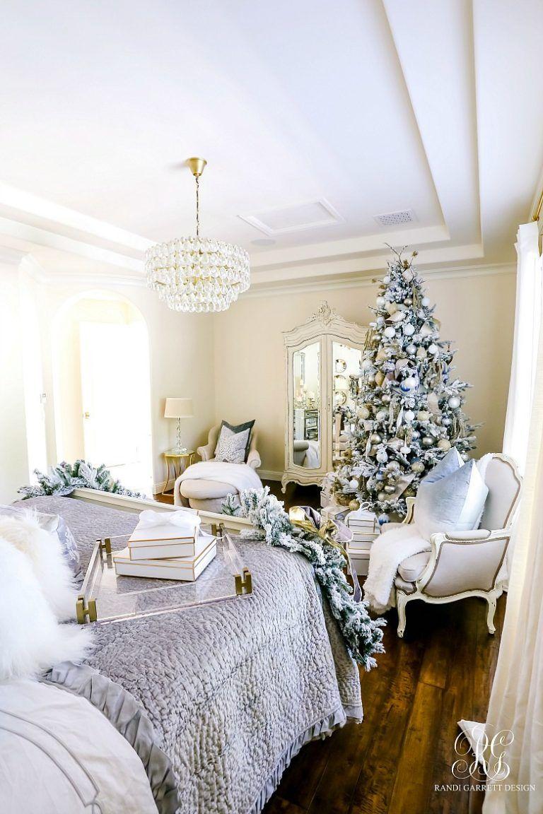 Elegant Christmas Bedroom Christmas bedroom, Elegant