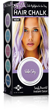 Splat Hair ColorViolet Sky Hair ChalkHair color