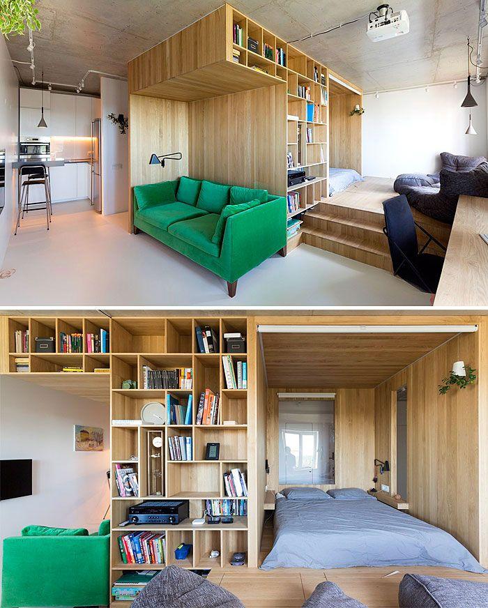 50 Small Studio Apartment Design Ideas (2019) \u2013 Modern Tiny \u0026 Clever - InteriorZine & 50 Small Studio Apartment Design Ideas (2019) \u2013 Modern Tiny ...