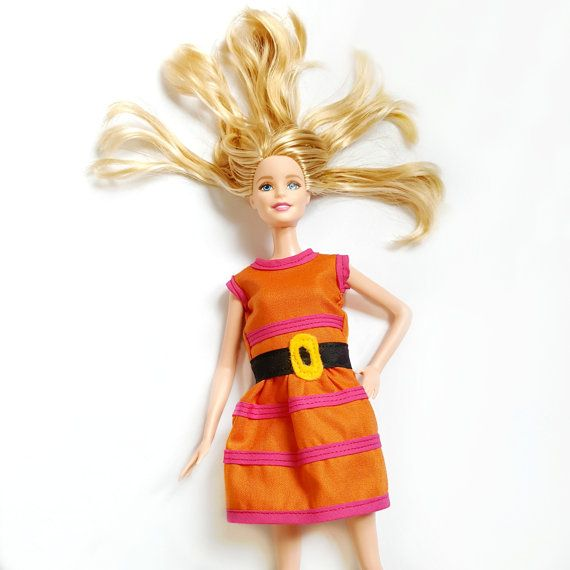 barbie halloween costume inspired by the cynthia doll dress the entire back of this orange - Barbie Halloween Dress Up Games