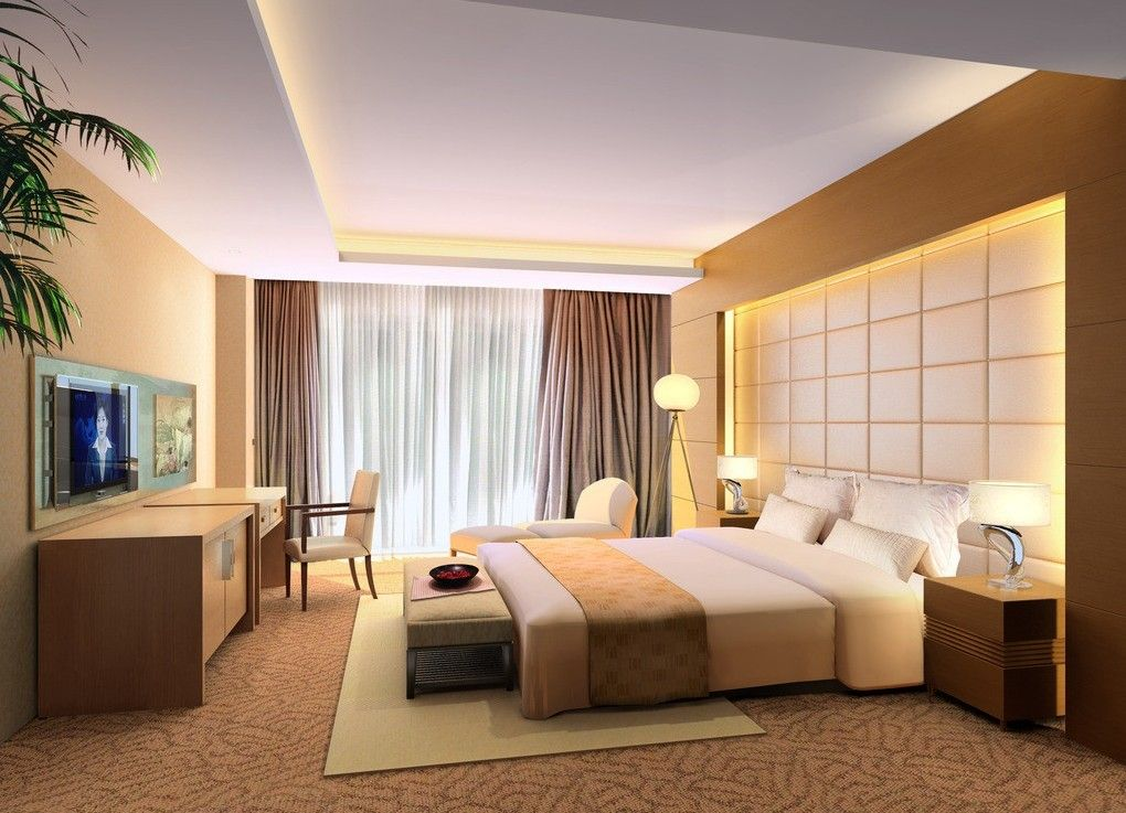 Pop False Ceiling For Contemporary Bedroom Decor