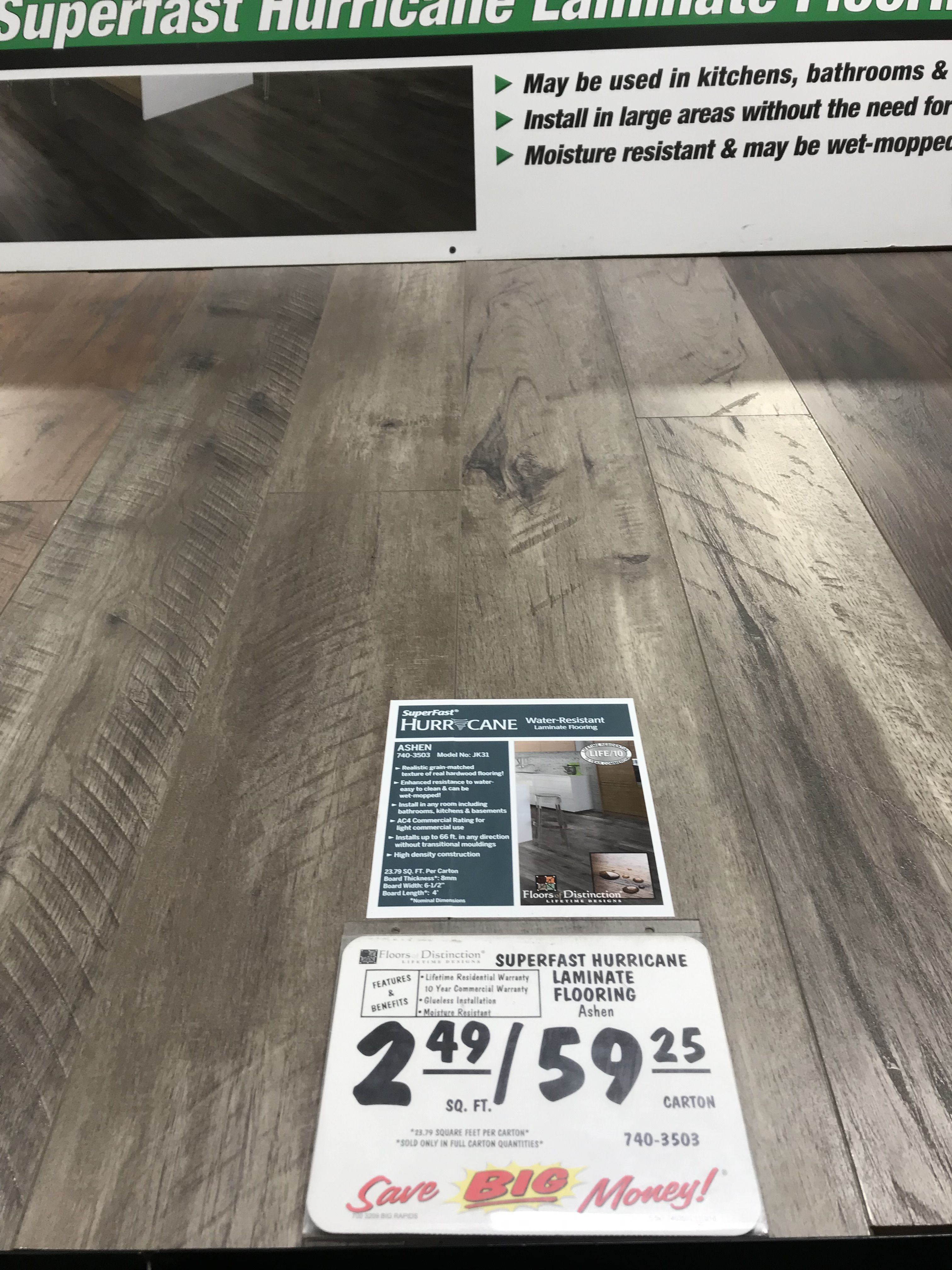 Laminate Flooring, Superfast Hurricane Laminate Flooring