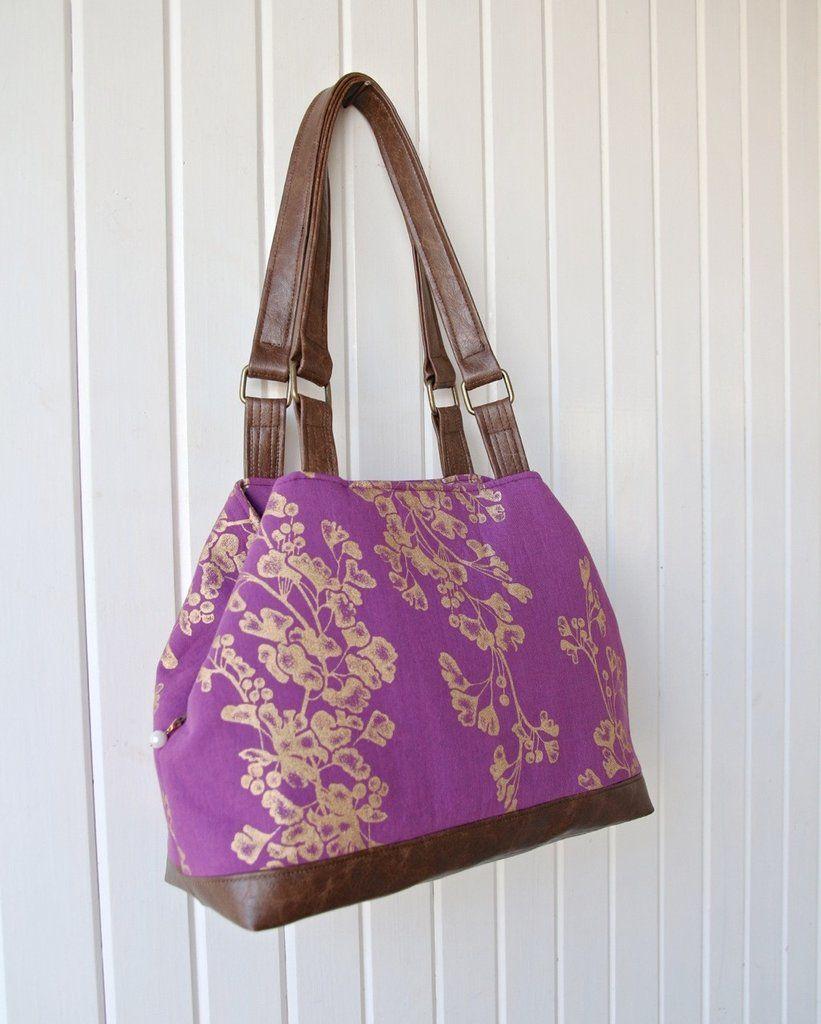 The Lotus Handbag Pdf Sewing Pattern