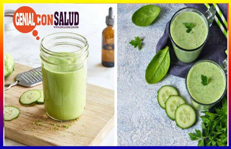 jugo verde para quemar grasa mientras duermes
