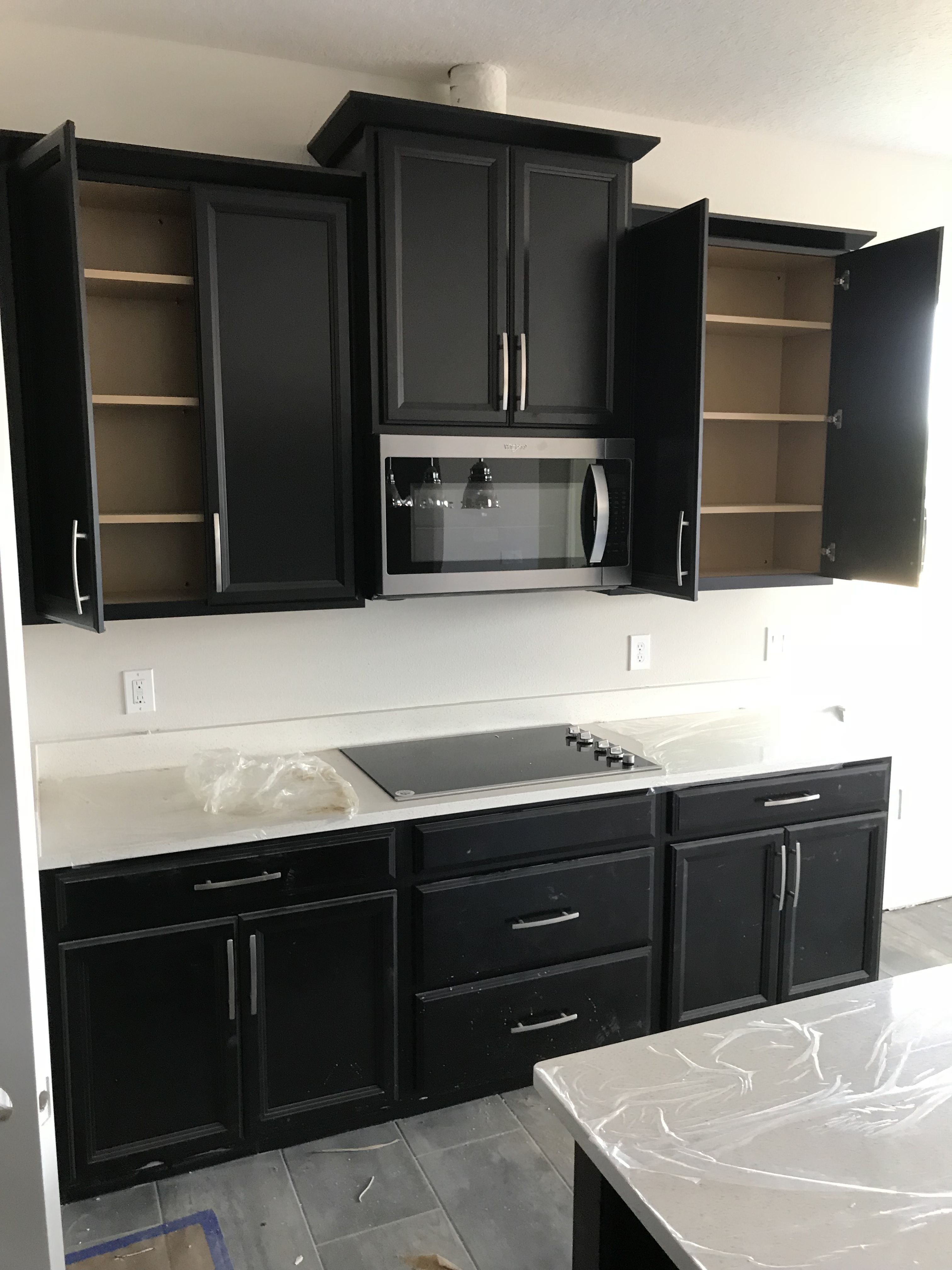 Timberlake Tahoe Espresso Cabinets Microwave Bump Out Microwave Bump Up Espresso Cabinets New Kitchen Timberlake Cabinets
