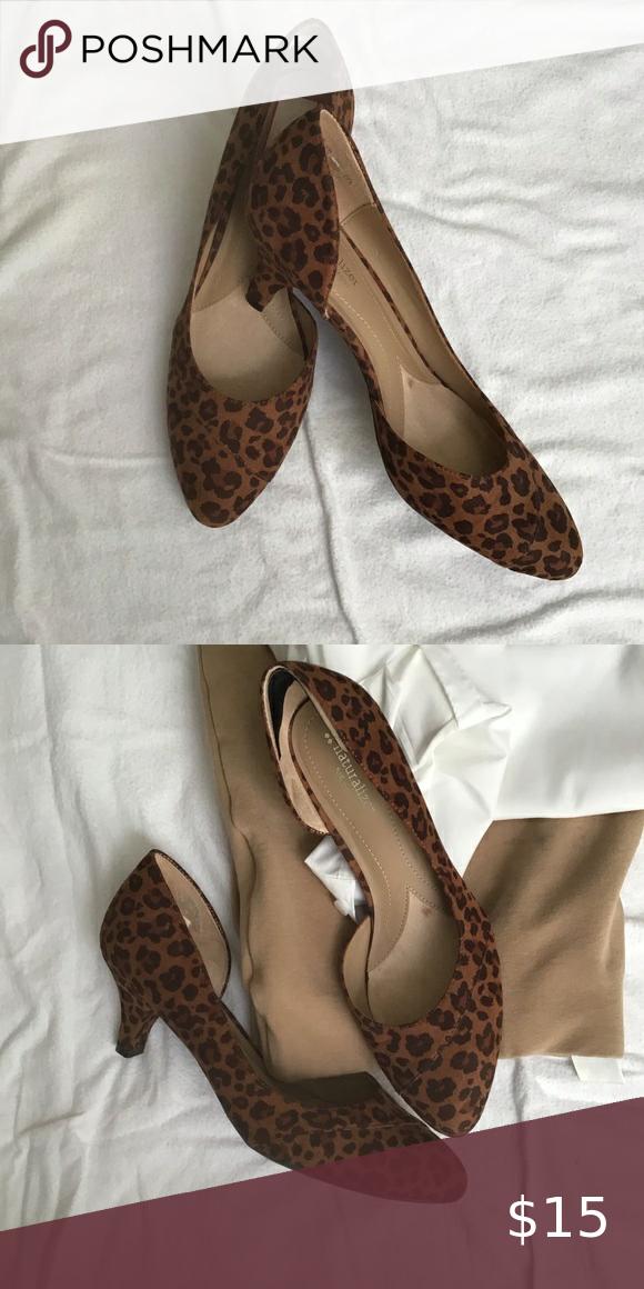 naturalizer leopard print shoes