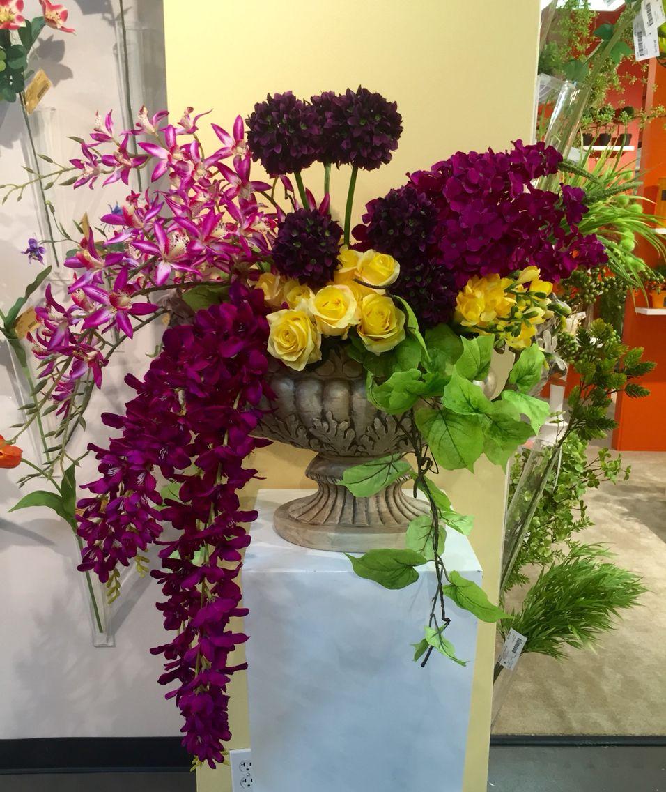 Beautiful Silk Floral Arrangement Silk Floral Arrangements