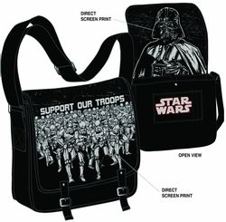 Urban Collector has some great nerd stuff.  I bought this star wars messenger bag from here, and modified it with fabric and cushion from a now OOB fabric store in order to make it a laptop bag.