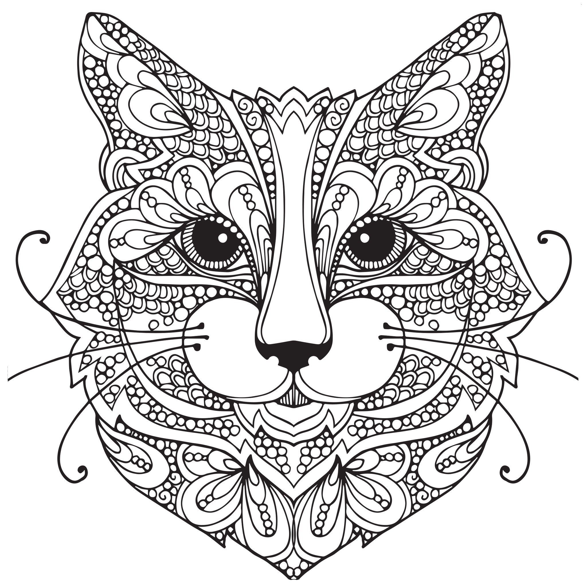 Cat Coloring Pages For Adults Best Coloring Pages For Kids Cat Coloring Page Animal Coloring Pages Cat Coloring Book