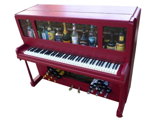 Items Similar To Funky Furniture: Bespoke Piano Drinks Cabinet Bar On Etsy