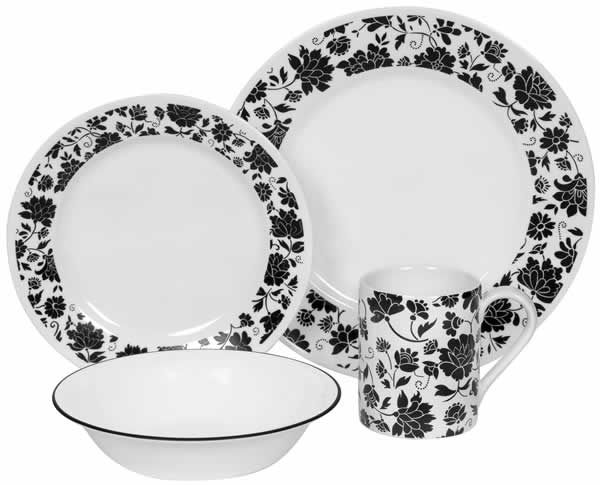 corelle Lifestyles Saffi - Corelle is what hubs \u0026 I both grew up with. Our grandmothers used it. I currently have a mix of about 3 patterns in my kitchen.  sc 1 st  Pinterest & Corelle \