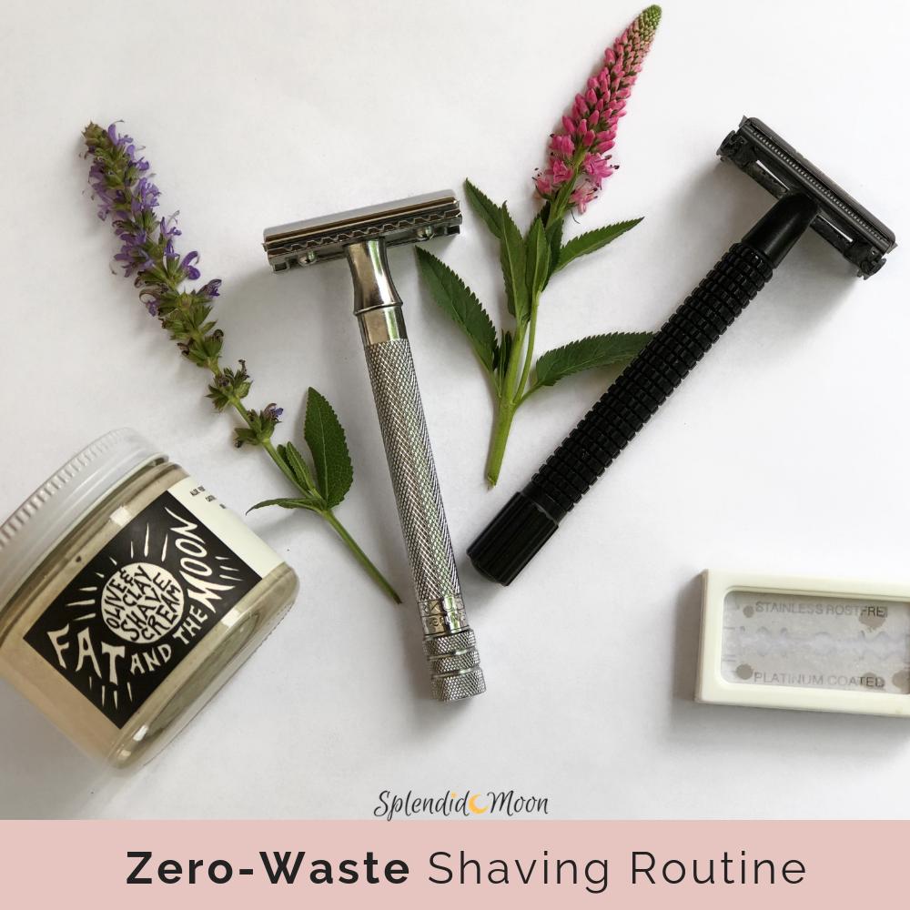 A ZeroWaste Shaving Routine Zero waste, Safety razor