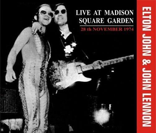 john lennon madison square garden 1974 | Elton John & John Lennon - Live At Madison Square Garden (1974 ...