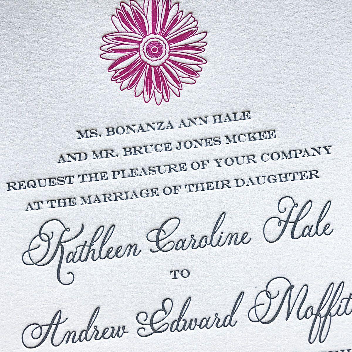 custom letterpress wedding invitations affordable letterpress invitations mospens studio - Affordable Letterpress Wedding Invitations