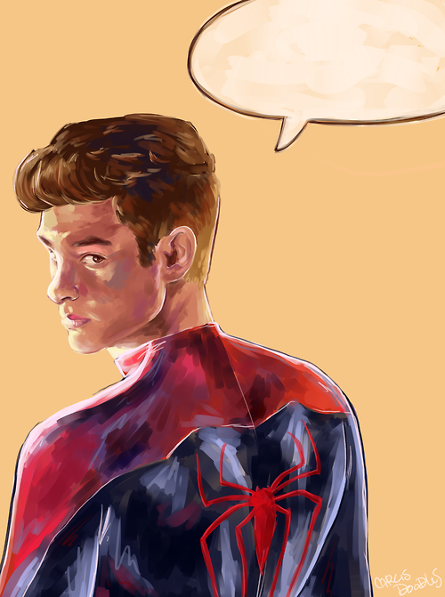 I think I'm gonna try to convince my prof to let me paint superheroes in my oil painting class next semester